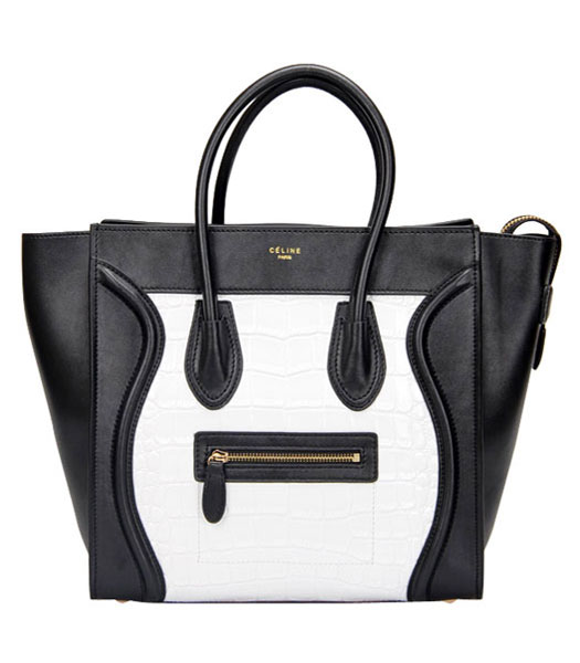 Fendi 2jours Transparent Plastic With Black Leather Tote Bag