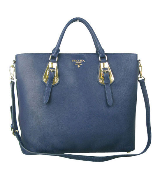 Yves Saint Laurent Bolso Mini Bag In Sapphire Blue Leather