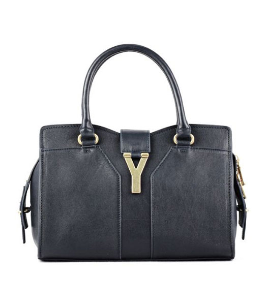 Prada Saffiano Lux Tote Bag With Sapphire Blue Croc Veins Leather