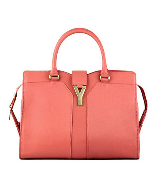 Prada Gaufre Apricot Lambskin Leather Tote Bag