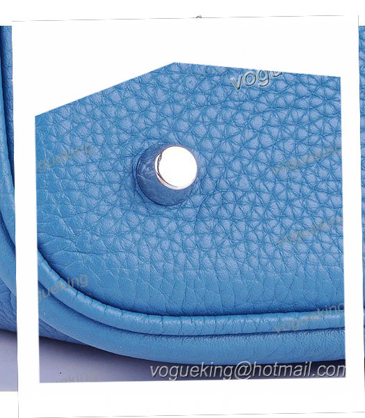 Hermes Picotin Lock MM Basket Bag With Middle Blue Leather-4