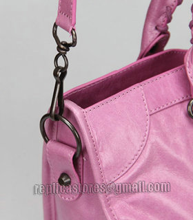 Balenciaga Motorcycle City Bag in Summer Purple Oil Original Leather-5