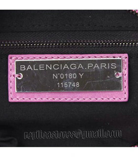 Balenciaga Motorcycle City Bag in Summer Purple Oil Original Leather-6