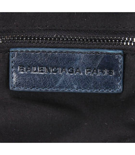 Balenciaga Giant Mini Twiggy Bag With Sapphire Blue Leather Small Nails-9