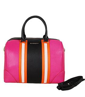 Givenchy Lucrezia Medium Boston Bag Fuchsia/Orange/Light Pink ...