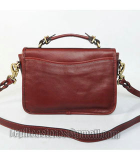 Mulberry Bryn Small Bag In Wine Red Leather