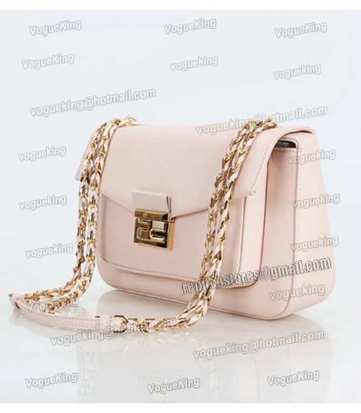 Fendi Iconic Be Baguette Small Bag With Pink Original Leather-1