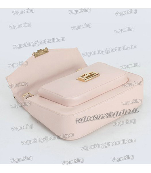Fendi Iconic Be Baguette Small Bag With Pink Original Leather-3