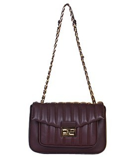 Fendi Iconic Be Baguette Small Bag With Jujube Vehicle Line Original Leather