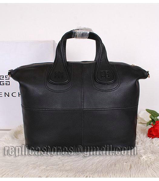 Givenchy Black Original Leather Designer Bag Medium Bag-3
