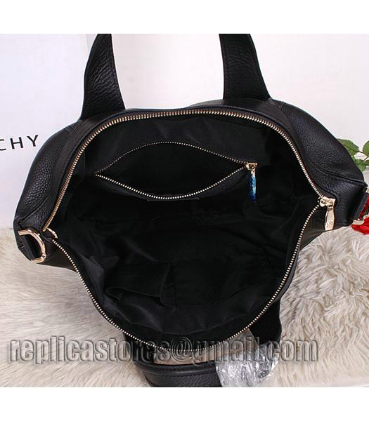 Givenchy Black Original Leather Designer Bag Medium Bag-4