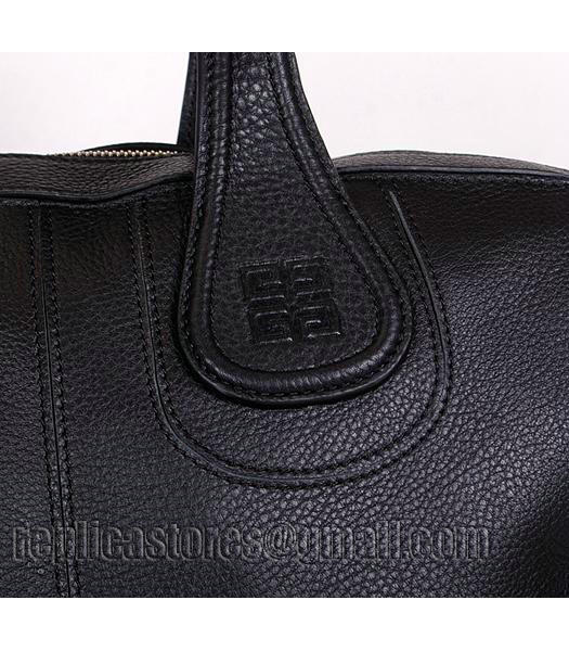 Givenchy Black Original Leather Designer Bag Medium Bag-6