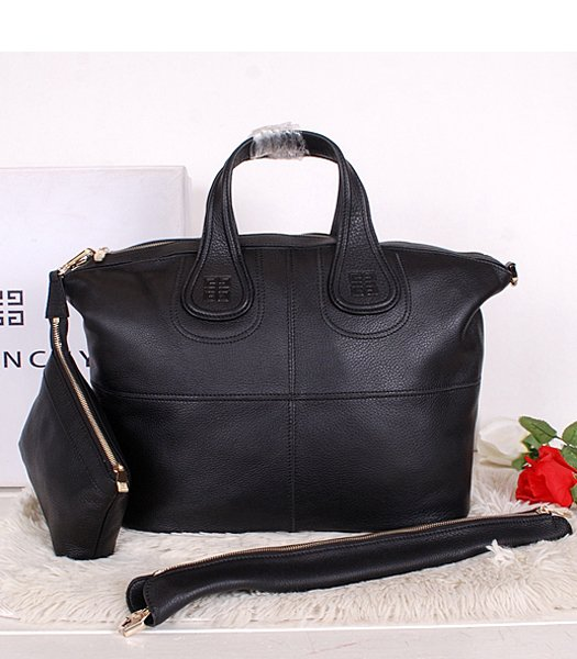 Givenchy Black Original Leather Designer Bag Medium Bag