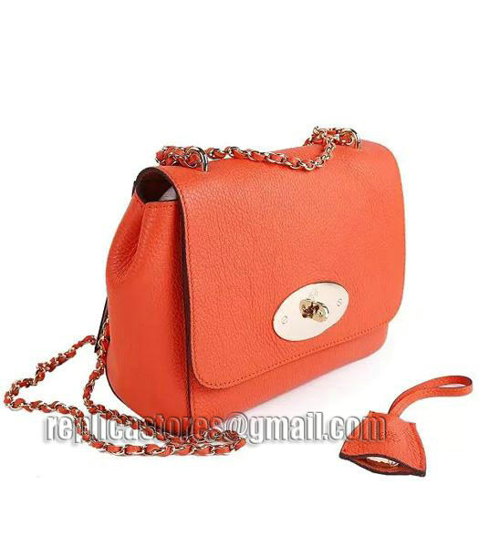 1200a2490c ... low price mulberry small lily natural leather shoulder bag orange 1  3dd40 ce600