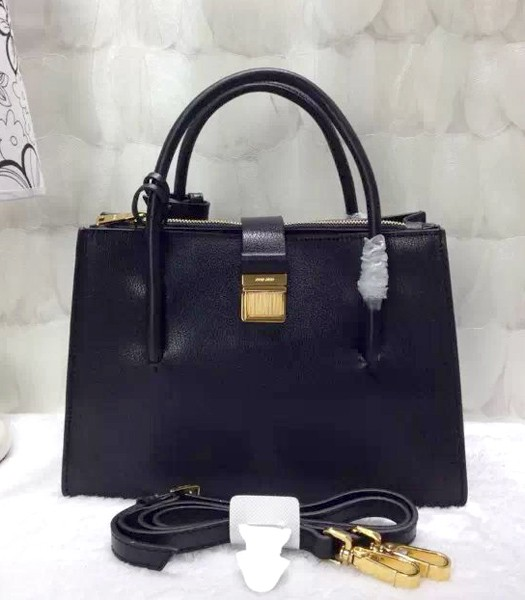Miu Miu Madras Bag Black