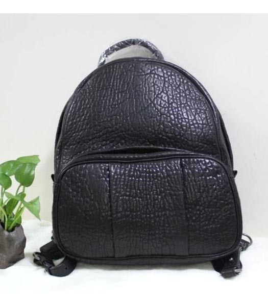 Alexander Wang Bubble Lambskin Leather Backpack In Black