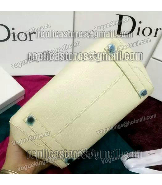 Christian Dior 35cm Exclusive New Tote Bag 60001 White Leather-6