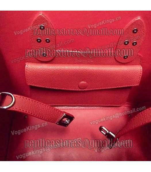 Christian Dior 35cm Exclusive New Tote Bag 60001 Red Leather-3