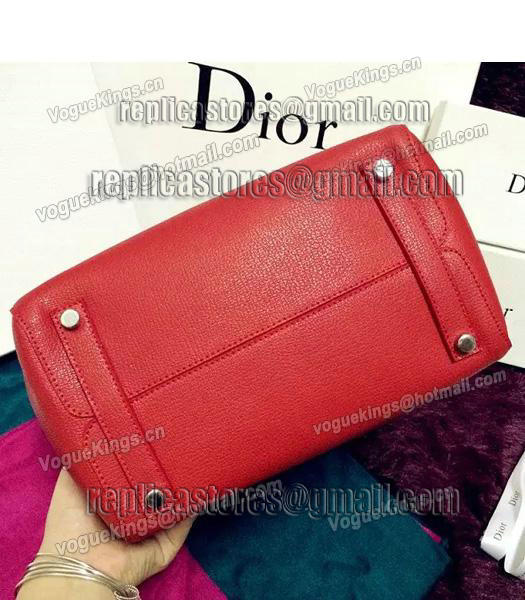 Christian Dior 35cm Exclusive New Tote Bag 60001 Red Leather-5