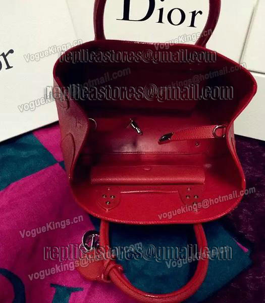 Christian Dior 35cm Exclusive New Tote Bag 60001 Red Leather-7