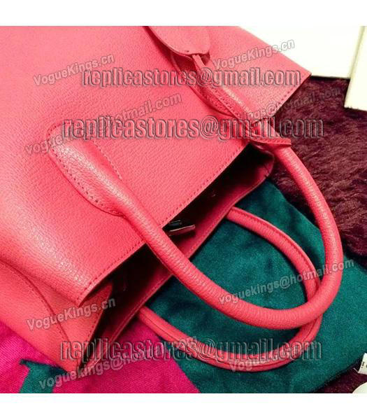 Christian Dior 35cm Exclusive New Tote Bag 60001 Plum Red Leather_5