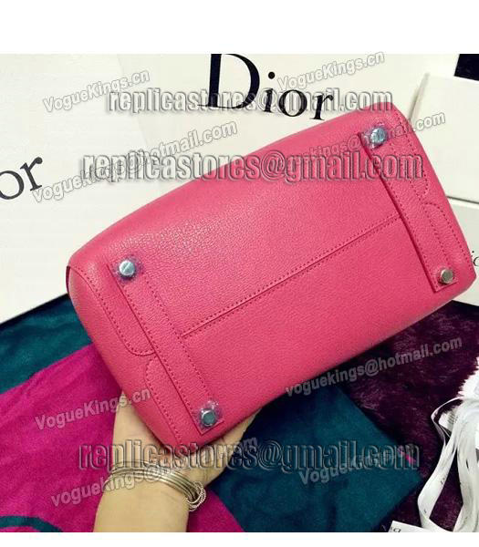Christian Dior 28cm Exclusive New Tote Bag 60001 Plum Red Leather-5