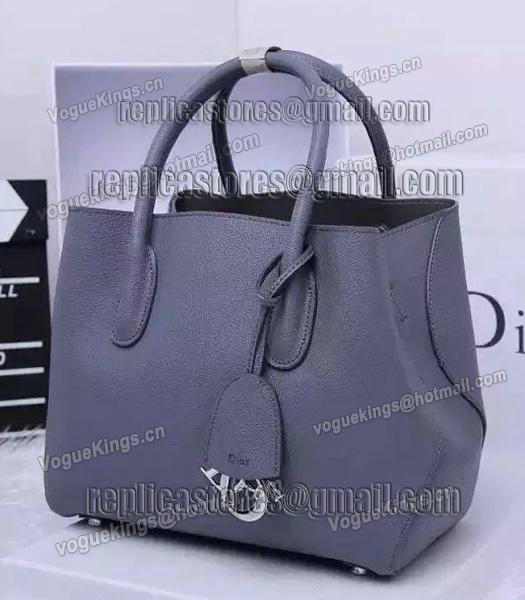 Christian Dior 35cm Exclusive New Tote Bag 60001 Grey Leather_1