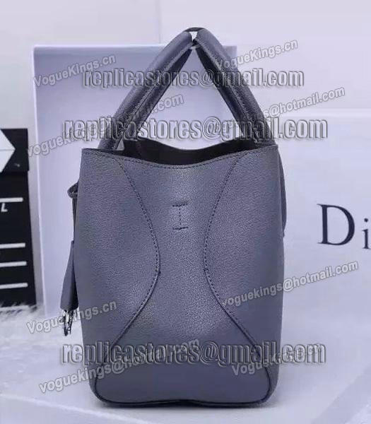 Christian Dior 35cm Exclusive New Tote Bag 60001 Grey Leather_3