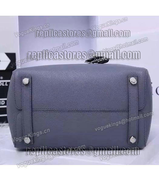 Christian Dior 35cm Exclusive New Tote Bag 60001 Grey Leather_4
