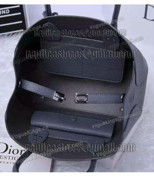 Christian Dior 35cm Exclusive New Tote Bag 60001 Grey Leather_5