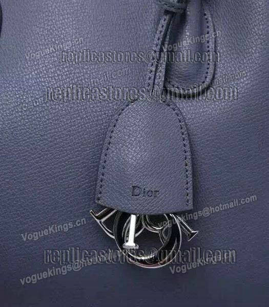 Christian Dior 28cm Exclusive New Tote Bag 60001 Grey Leather_4