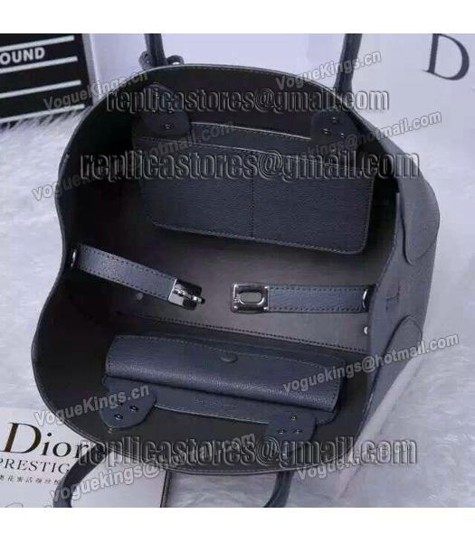 Christian Dior 28cm Exclusive New Tote Bag 60001 Grey Leather_7