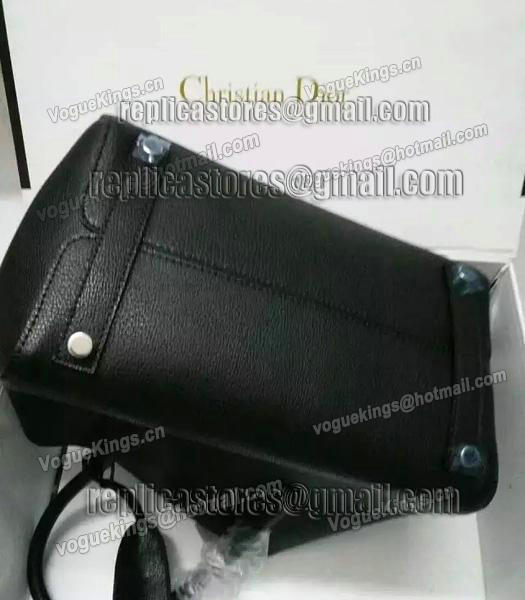 Christian Dior 28cm Exclusive New Tote Bag 60001 Black Leather_4