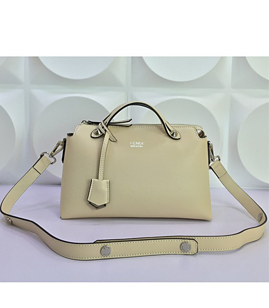 Fendi By The Way Small Shoulder Bag 2356 In Apricot Leather