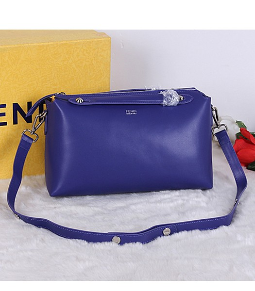 Fendi Top-quality Shoulder Bag 9031 In Sapphire Blue Leather