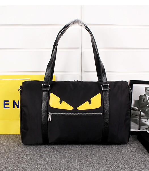 Fendi Top-quality Monster Large Travel Bags 8940 In Black