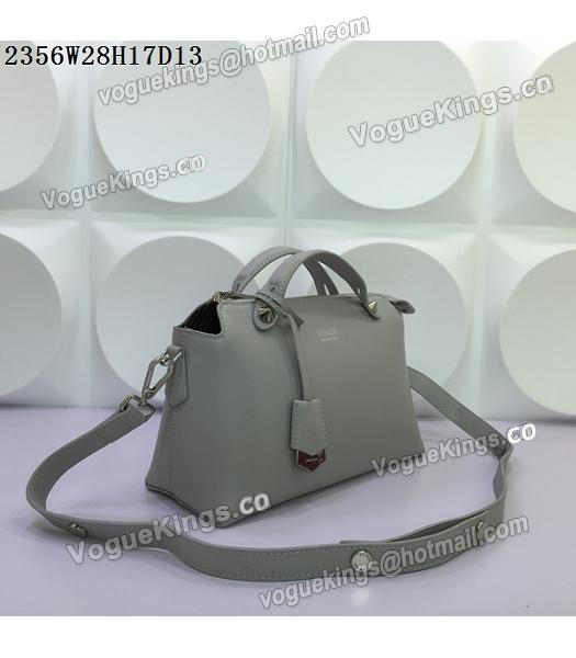 Fendi By The Way Small Shoulder Bag 2356 Grey Leather-1