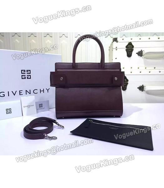 Givenchy Horizon 28cm Jujube Red Leather Top Handle Bag-2