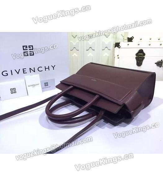 Givenchy Horizon 28cm Jujube Red Leather Top Handle Bag-4