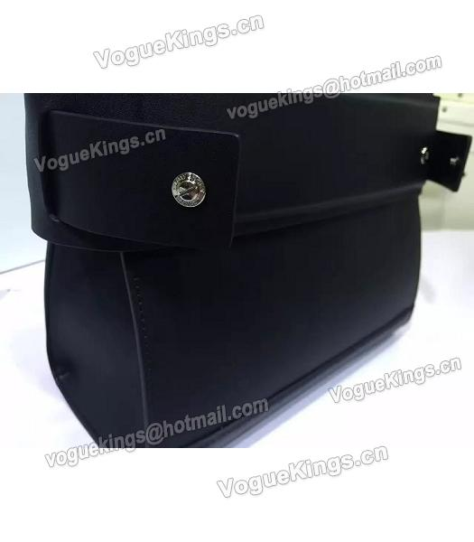 Givenchy Horizon 28cm Black Leather Top Handle Bag-3