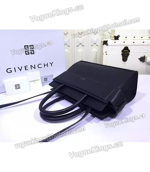 Givenchy Horizon 28cm Black Leather Top Handle Bag-4