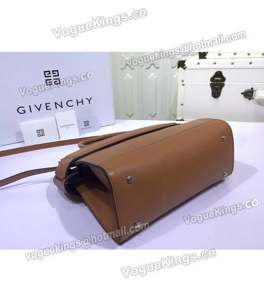 Givenchy Horizon 28cm Coffee Leather Top Handle Bag-5
