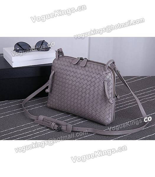 Bottega Veneta New Style Woven Khaki Leather Small Shoulder Bag-1