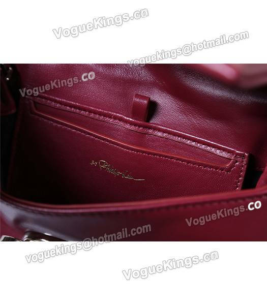 Phillip Lim Wine Red Leather Small Alix Flap Bag-7