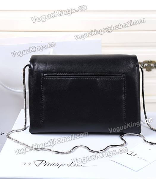 Phillip Lim Black Leather Small Alix Flap Bag-1