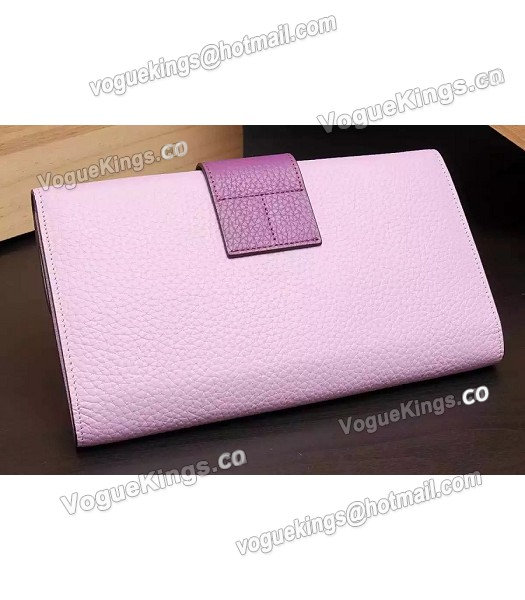 Hermes Latest Design Leather Fashion Clutch Pink-2
