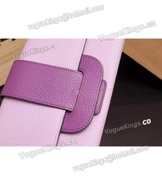 Hermes Latest Design Leather Fashion Clutch Pink-3