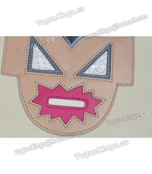 Stella McCartney Superhero Large Pink Zipper Clutch-2