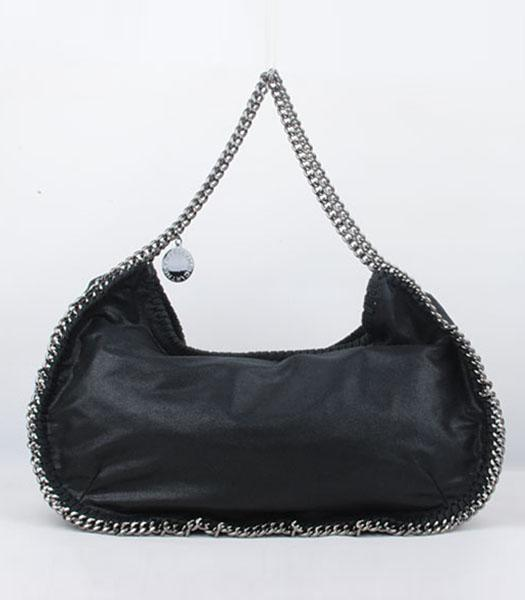 Stella McCartney Falabella High PVC Leather Black Shoulder Bag-1