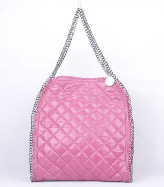 Stella McCartney Falabella S-811-1 PVC Rose Red Quilted Hobo Bag
